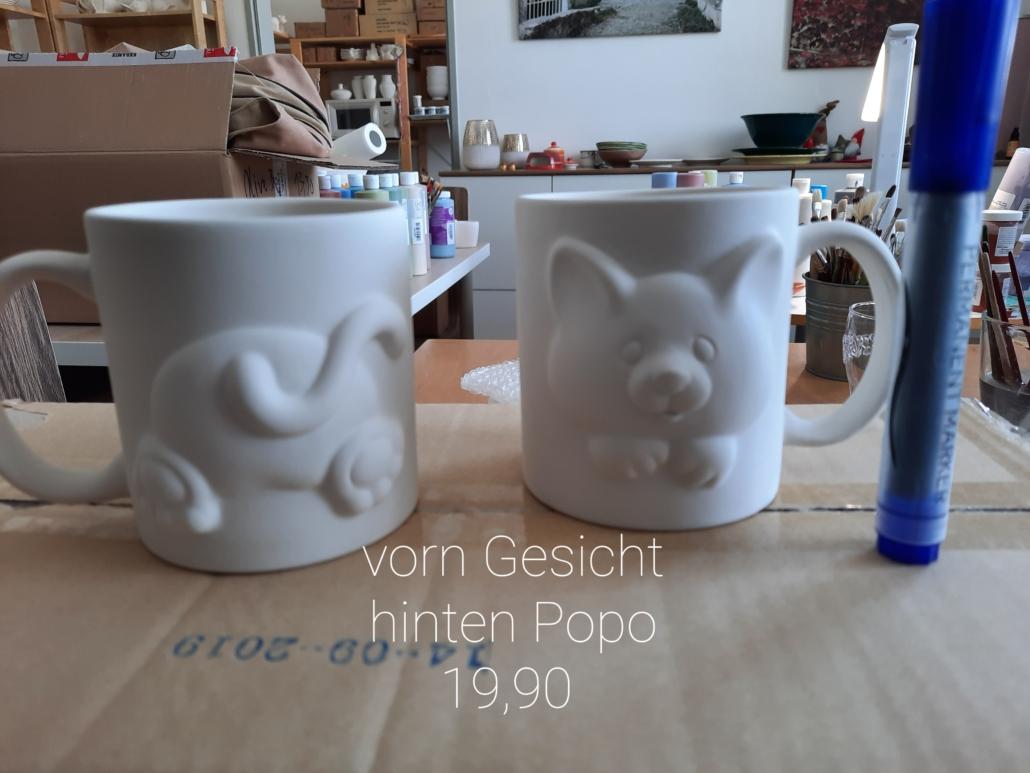 Katzenrelief-Becher 19,90€