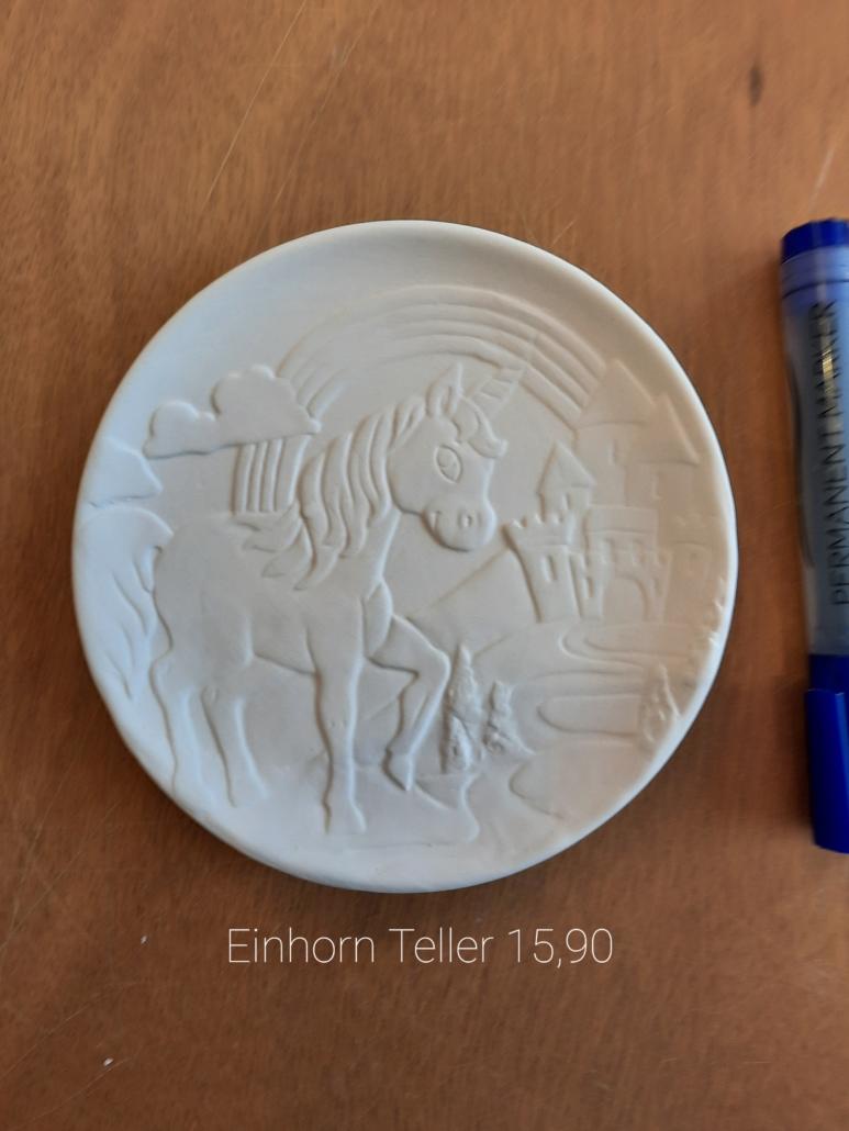 Reliefteller Einhorn 15,90€
